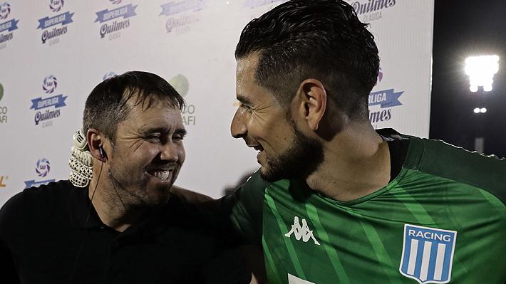 Las reacciones de Marcelo Díaz y Gabriel Arias tras proclamarse con Racing campeones del fútbol argentino
