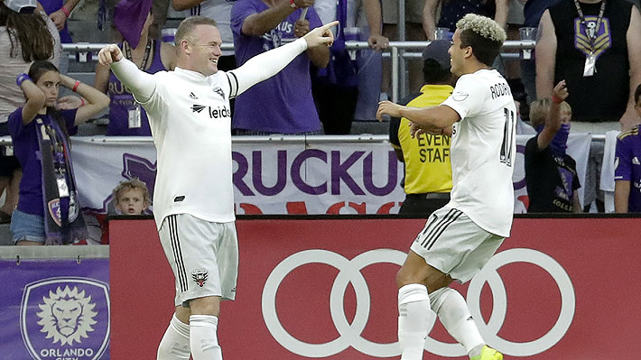 Video: Rooney deslumbra con un espectacular gol de tiro libre en la MLS