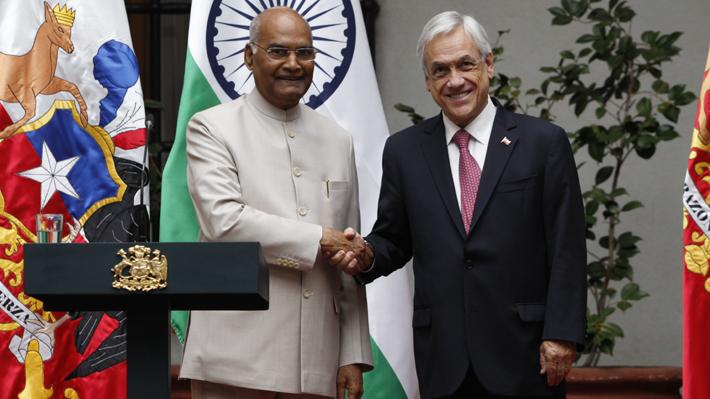 Presidente Piñera entrega apoyo a India para que sea parte del Consejo de Seguridad de la ONU