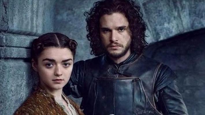 Publican spots de Game of Thrones con nuevas imágenes: Arya y Jon juntos frente a uno de los icónicos árboles