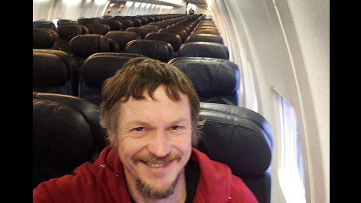 Hombre voló de Lituania a Italia como único pasajero: tuvo todo el avión para él