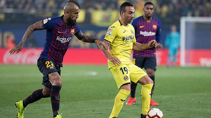 Barcelona y Villarreal dan vida a un espectacular partido que tuvo asistencia de Vidal y un final increíble