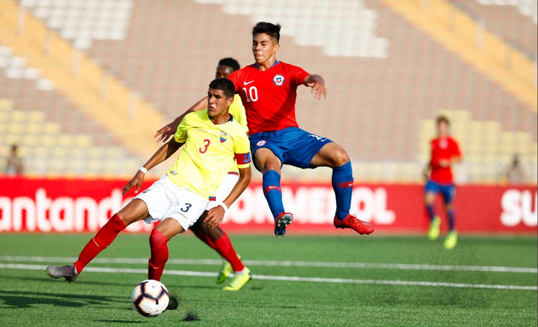 """La """"Roja"""" Sub 17 se tomó revancha y venció merecidamente a Ecuador en el inicio del hexagonal final del Sudamericano"""