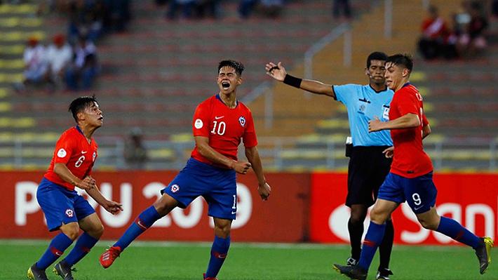 Chile el único líder: Mira cómo quedó la tabla y lo que viene tras la primera jornada del hexagonal del Sudamericano Sub 17