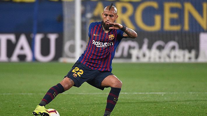 """""""Influyente"""" y """"el mejor de su zona"""": En España elogian el nivel y gran asistencia de Vidal en increíble duelo del Barcelona"""