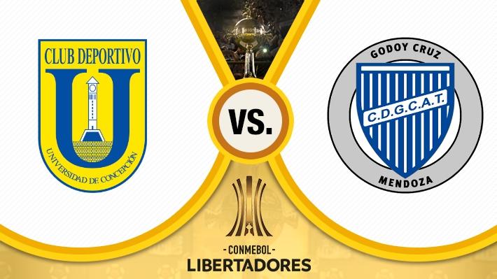 Mira cómo fue el empate de la U. de Conce ante Godoy Cruz por la Libertadores