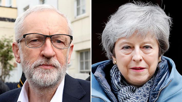 Corbyn se reúne con May y le pide más flexibilidad para llegar a un acuerdo sobre el Brexit