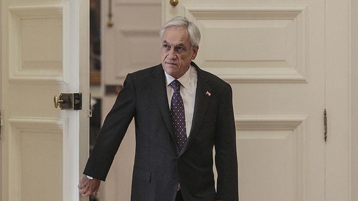 Fuerte baja en aprobación de Sebastián Piñera: En marzo cayó 10% según encuesta Criteria