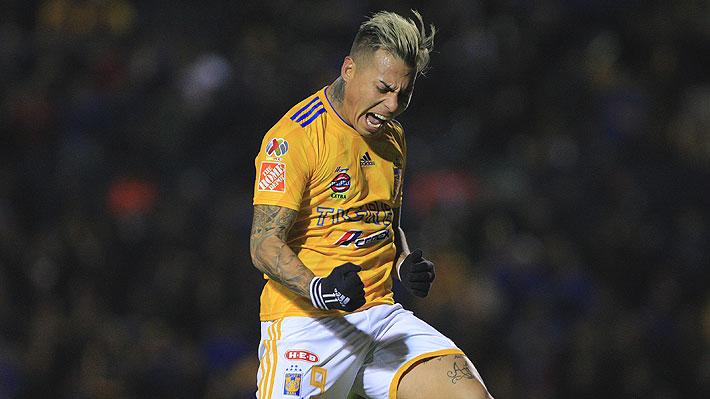 Video: Eduardo Vargas anotó en goleada del Tigres en las semifinales de la Concachampions