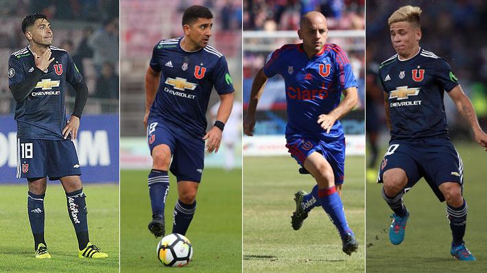 """Los jugadores que se fueron de la U y entre los que podrían estar los """"sapos"""" de los que habla Herrera"""