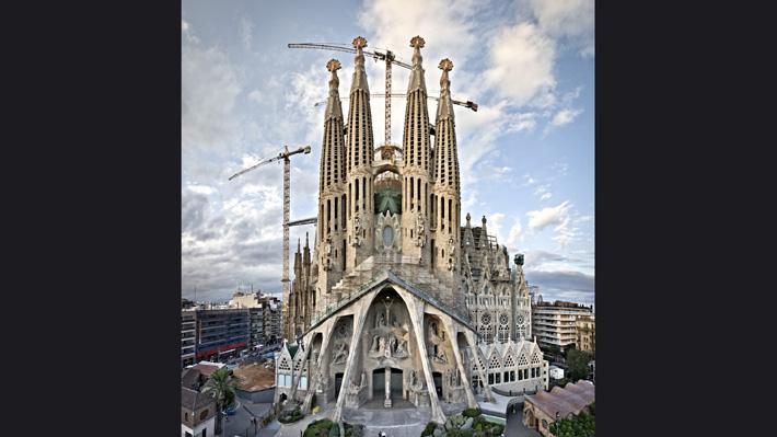 La Sagrada Familia de Barcelona solicita el permiso de construcción después de 134 años