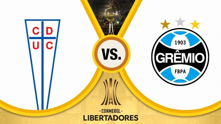 Revisa cómo fue el triunfo de la Católica frente a Gremio en la Libertadores