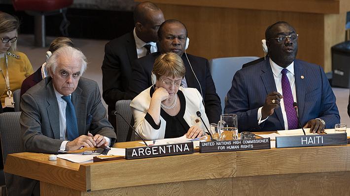 Bachelet aborda la crisis de Haití: Llama a proteger los Derechos Humanos y a fortalecer las instituciones del país