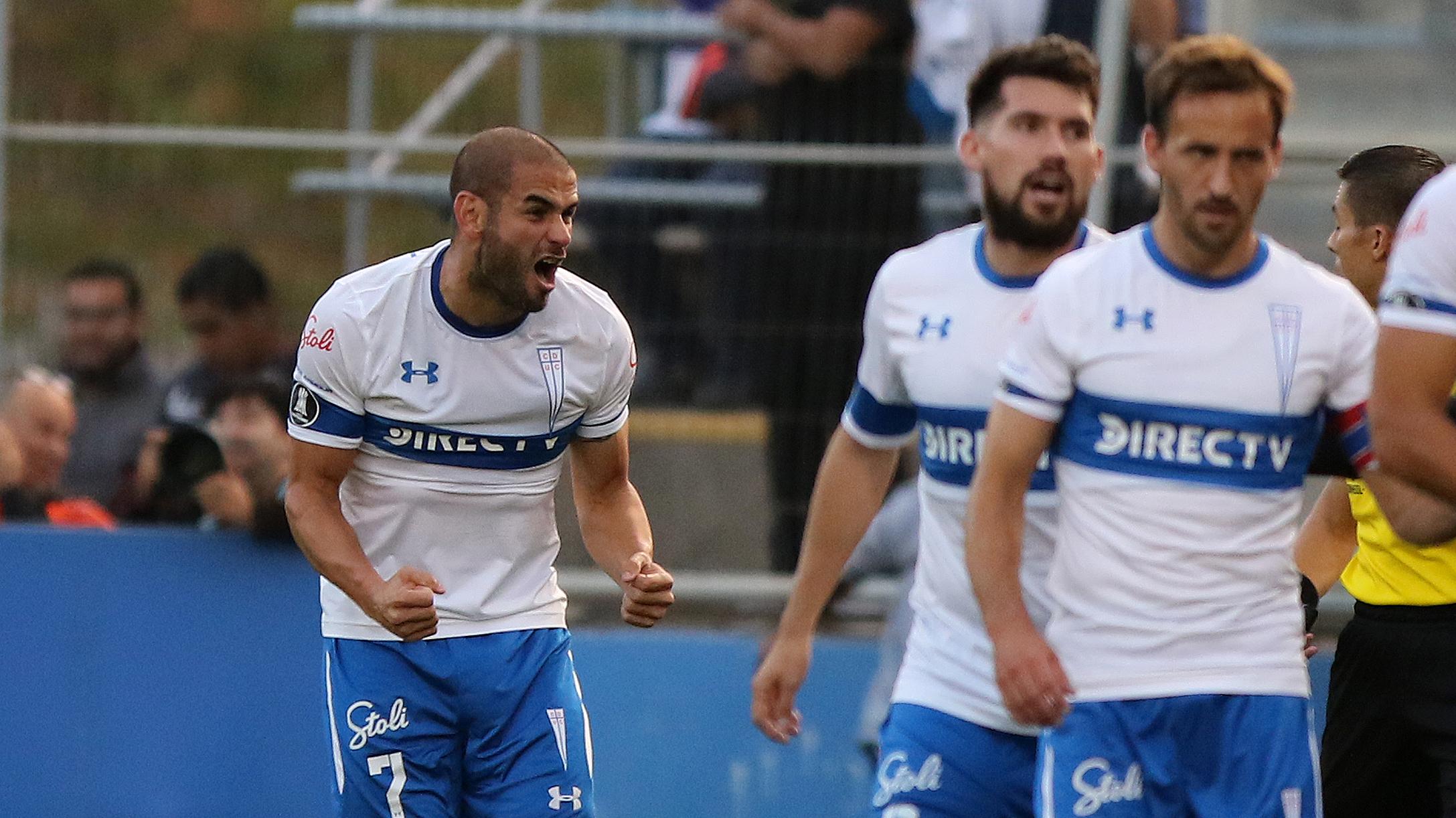 """Con gol del """"Sacha"""" Sáez, la UC le ganó a Gremio y quedó en la parte alta de su grupo en la Copa Libertadores"""