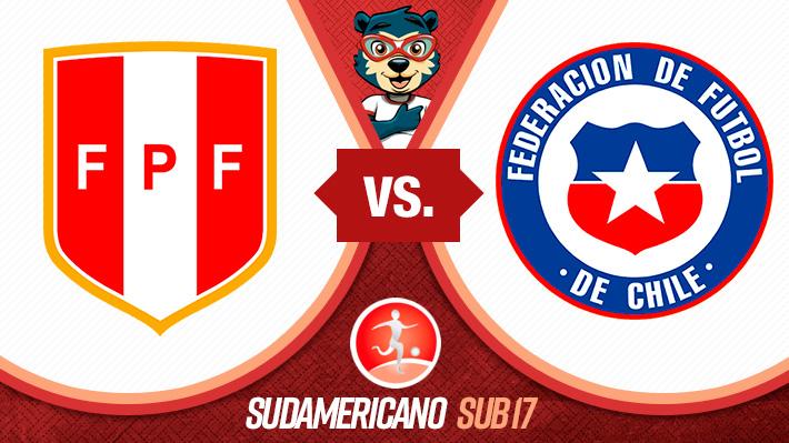Así se forjó la sufrida victoria de Chile ante Perú en el hexagonal del Sudamericano Sub 17