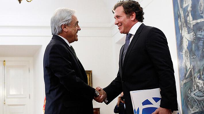 """Presidente de la Conmebol tras reunión con Sebastián Piñera: """"Chile fortaleció nuestra candidatura al Mundial 2030"""""""