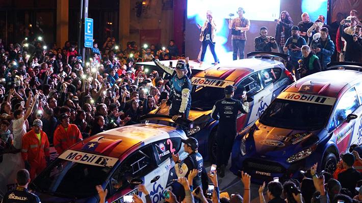 ¡Lleno total! Los Ángeles dio la bienvenida al RallyMobil con masiva presentación estelar