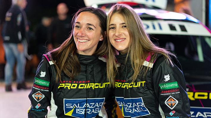 Así fue el primer día del único equipo de mujeres del RallyMobil