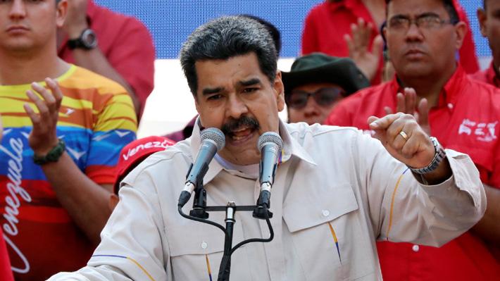 Maduro culpa a Chile de los masivos cortes eléctricos en Venezuela