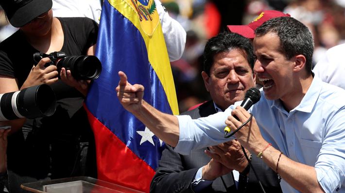 """Juan Guaidó da por iniciada """"fase definitiva"""" para sacar a Maduro del poder"""