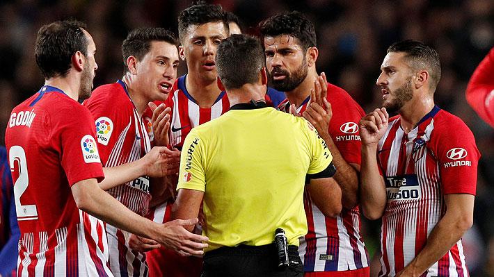 La versión de lo que habría dicho verdaderamente Diego Costa antes de ser expulsado frente al Barcelona
