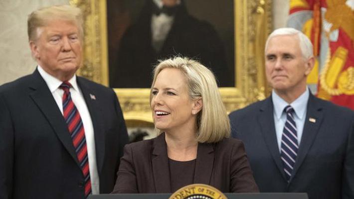 Donald Trump confirma la renuncia de Kirstjen Nielsen como secretaria de Seguridad Nacional