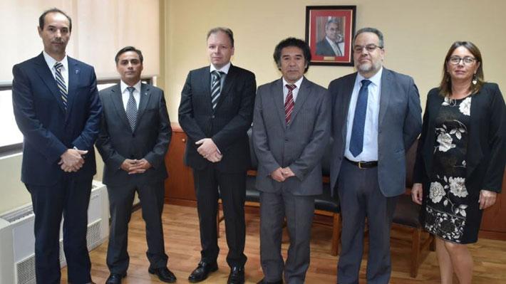 Jueces que reemplazarán a ministros suspendidos prestan juramento en la Corte de Apelaciones de Rancagua