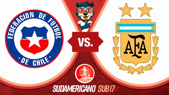 Reviva la derrota de Chile ante Argentina en el Sudamericano Sub 17