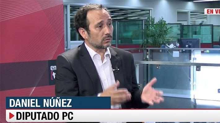 """Diputado Núñez (PC): """"Veo cierto entusiasmo en sectores de la oposición por aprobar reforma tributaria del Gobierno"""""""