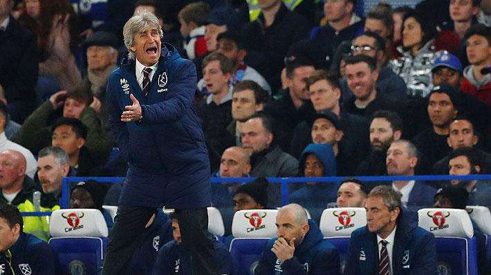 West Ham cae ante el Chelsea, suma dos derrotas seguidas y Pellegrini tambalea aún más en la banca