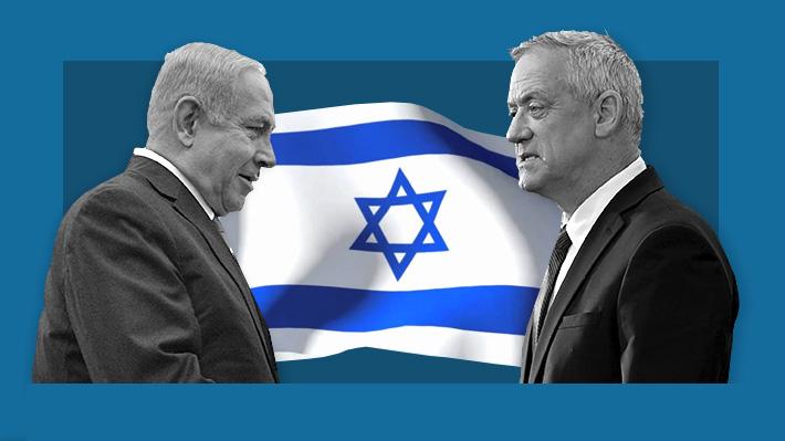 Netanyahu vs. Gantz: El frente a frente de los dos favoritos en las reñidas elecciones de Israel