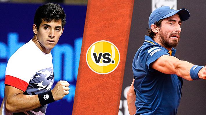 Así fue el triunfo de Christian Garin ante Pablo Cuevas en el ATP de Houston