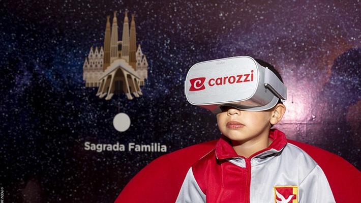 Inédito tour virtual da a conocer la obra de Antoni Gaudí a niños y jóvenes en Valparaíso