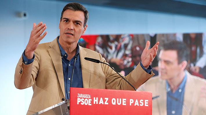 Encuesta prevé triunfo del PSOE en elecciones de España, pero tendría que pactar