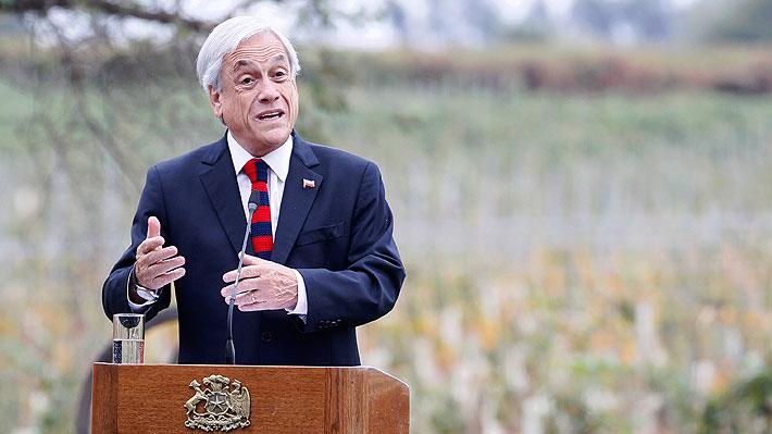 """Piñera """"valora y agradece"""" a la DC por apoyar idea de legislar reforma tributaria"""