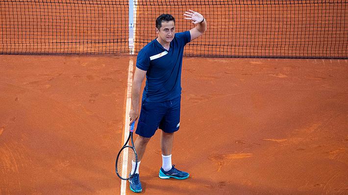El ex top ten, Nicolás Almagro, dijo adiós al tenis tras perder en Murcia su último partido individual