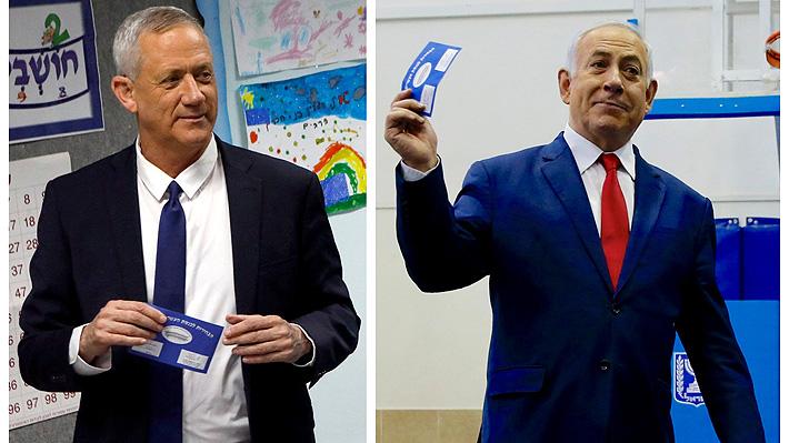 Sondeos a pie de urna en Israel revelan un estrecho escenario sin ganador claro