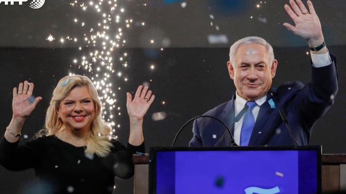 Elecciones de Israel: Primer Ministro Benjamin Netanyahu se impone a Gantz con el 99% de votos escrutados
