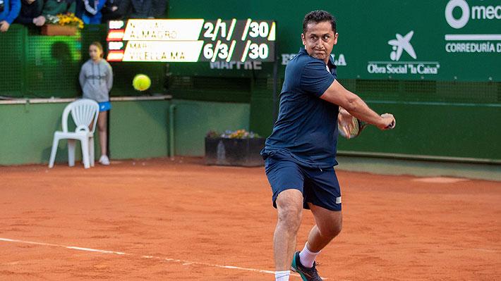 Mira el insólito punto que el tenista Nicolás Almagro se dejó perder en el último partido de su carrera