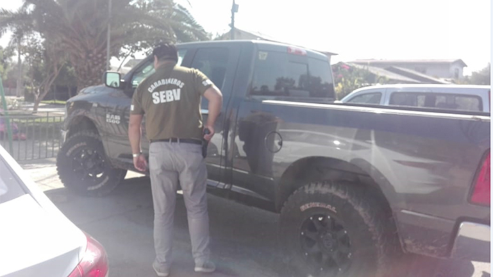 Camioneta robada a sobrina de Andrés Chadwick fue encontrada esta tarde en Maipú