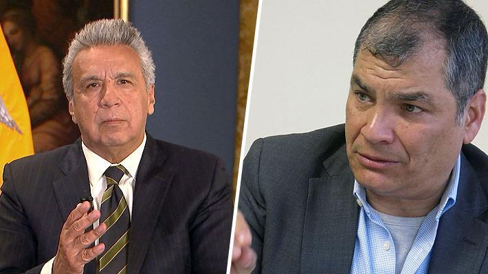 "Rafael Correa critica a Lenín Moreno por detención de Assange: ""Ha demostrado su miseria humana al mundo"""