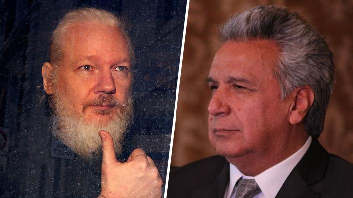 Ecuador suspende la nacionalidad de Julian Assange tras su detención en Londres