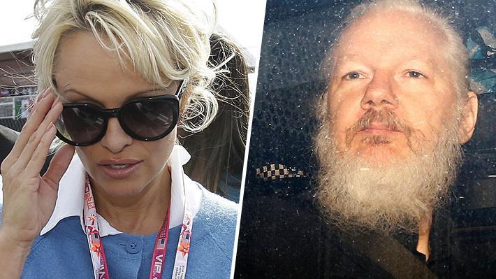 """Pamela Anderson reacciona furiosa a detención de Julian Assange: """"Se pudrirán. Y nosotros nos levantaremos"""""""