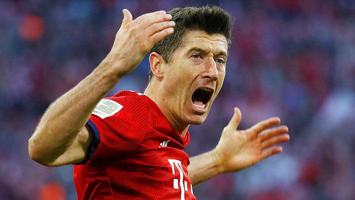 Lewandowski y compañero del Bayern habrían protagonizado pelea en pleno entrenamiento