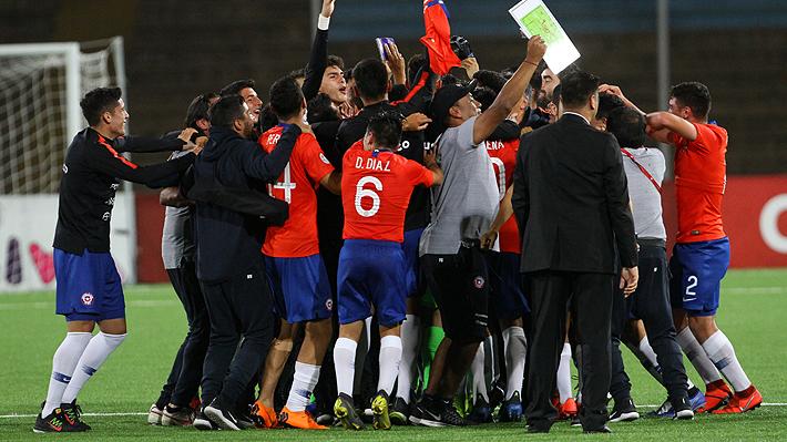 """La """"Roja"""" Sub 17 lo hizo: Clasificó al Mundial, luego de una heroica y épica remontada ante Uruguay"""