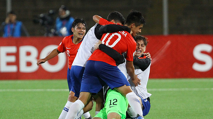 """Uno fue un golazo: Mira los cuatro tantos con los que la """"Roja"""" Sub 17 clasificó al Mundial de Brasil"""