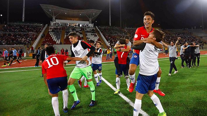 """Las mejores imágenes de la emotiva celebración de la """"Roja"""" Sub 17 tras clasificar al Mundial"""