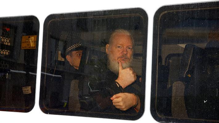 Naciones Unidas pide que se garantice el derecho de Julian Assange a un juicio justo