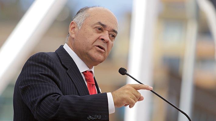 """Ulloa y su salida de la intendencia del Biobío: """"El Presidente ha estimado necesario dar un nuevo impulso"""""""