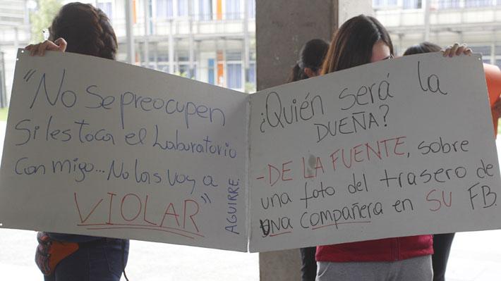 Estudiantes se toman facultad de Química de la U. de Chile: Acusan acoso por parte de profesores